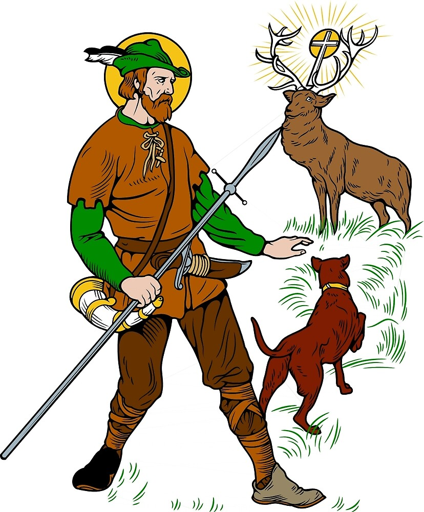 ST HUBERT OF LIEGE the HUNTER by CatholicSaints