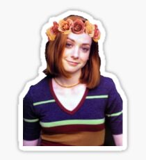 Willow Rosenberg - Flower Crown Sticker