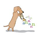 Musical Sausage by Diana-Lee Saville