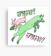 Jump! Jump! Metal Print
