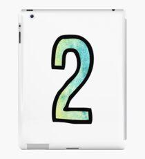 Number 2 iPad Case/Skin
