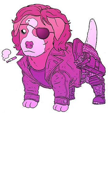 KURT RUSSELL TERRIER - ESCAPE FROM NEW YORK by Ulises Farinas
