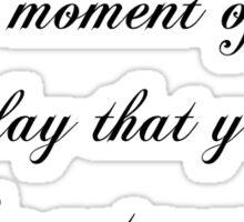 Shinedown Unity Lyrics Sticker