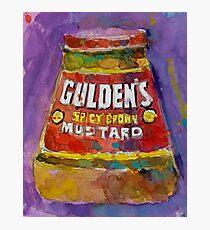 Gulden's Spicy Brown Mustard Photographic Print