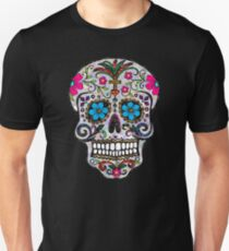 sequin Sugar Skulls Unisex T-Shirt
