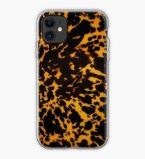 polished tortoise shell art deco phone case iPhone Case
