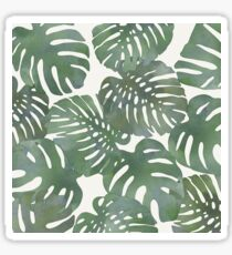 Tropical Leave pattern 1` Sticker
