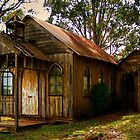 Old church in Newbury Australia by Froggie