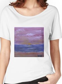Pink Skies  Women's Relaxed Fit T-Shirt
