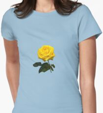 Yellow Rose Womens Fitted T-Shirt