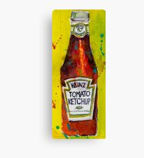 Heinz tomato Ketchup - Deli, kitchen art Canvas Print