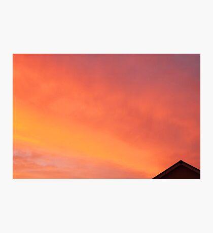 June sunset Photographic Print