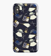 x-files print iPhone Case/Skin