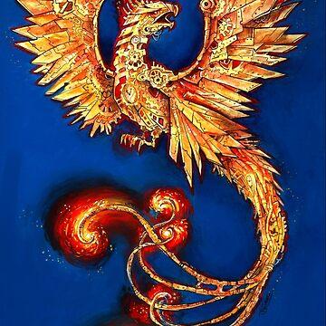 Clockwork Phoenix by JCathryn