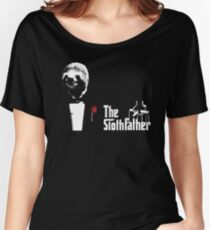 Sloth - The Slothfather godfather parody mashup Women's Relaxed Fit T-Shirt