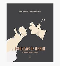 500 Days of Summer Photographic Print