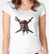 Pirates of the Caribbean Women's Fitted Scoop T-Shirt