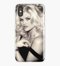 anna nicole smith guess ad iPhone Case/Skin
