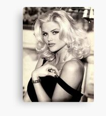anna nicole smith guess ad Canvas Print