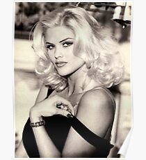 anna nicole smith guess ad Poster