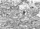 Judge Dredd - Mega City 2 Original Art Reproduction by Ulises Farinas