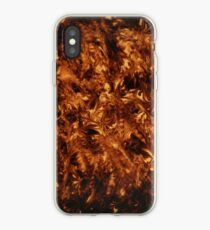 polished tortoise shell art deco phone cover iPhone Case