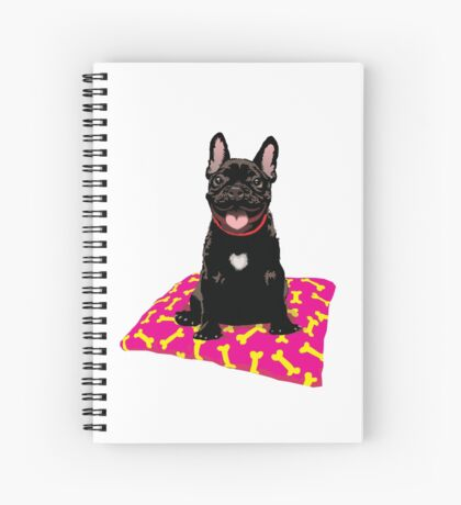 I heart frenchies Spiral Notebook