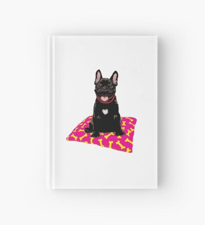 I heart frenchies Hardcover Journal