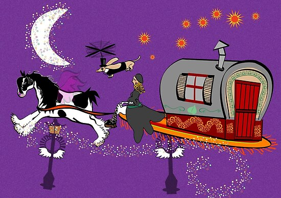 Gypsy Time Travellers by Diana-Lee Saville
