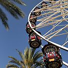 Ferris Wheel In The Sky by DARRIN ALDRIDGE