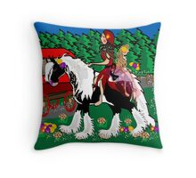 Gypsy Girls Throw Pillow