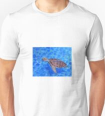 Hawksbill Turtle by Liz H Lovell Unisex T-Shirt