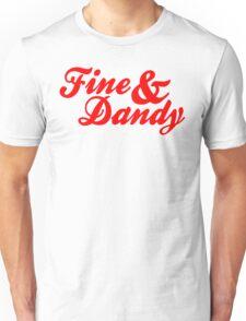 Fine & Dandy Red T-Shirt