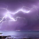 Lighting up Clifton Springs, Victoria by Julie Begg