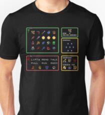 Link the the Past Item Menu T-Shirt