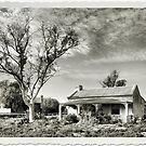 Old House in Silverton NSW by George Petrovsky