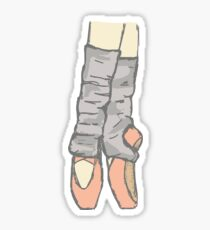 Pointe Sticker