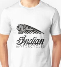Indian Motorcycles Distressed Logo T-Shirt