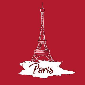 Eiffel Tower Paris by roastedseaweed