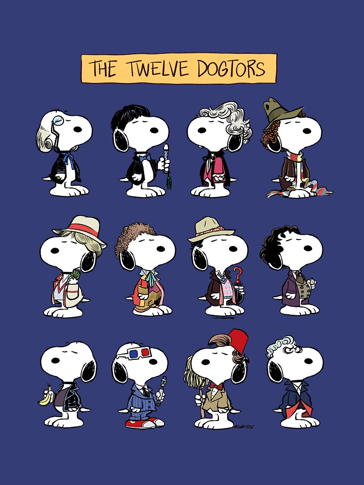 The Twelve Dogtors by Albo1980