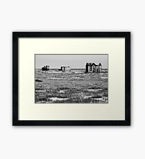 Desolate Dungeness Framed Print