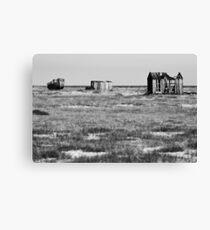 Desolate Dungeness Canvas Print