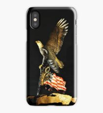 Land of the Free Home of the Brave iPhone Case/Skin
