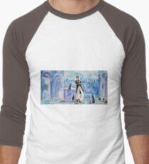 Corto Maltese with cats  Men's Baseball ¾ T-Shirt