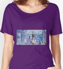 Corto Maltese with cats  Women's Relaxed Fit T-Shirt