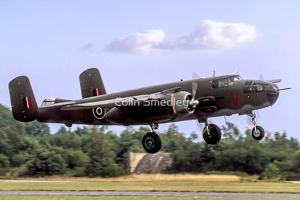 B-25N Mitchell III HD346/ND-V N320SQ by Colin Smedley