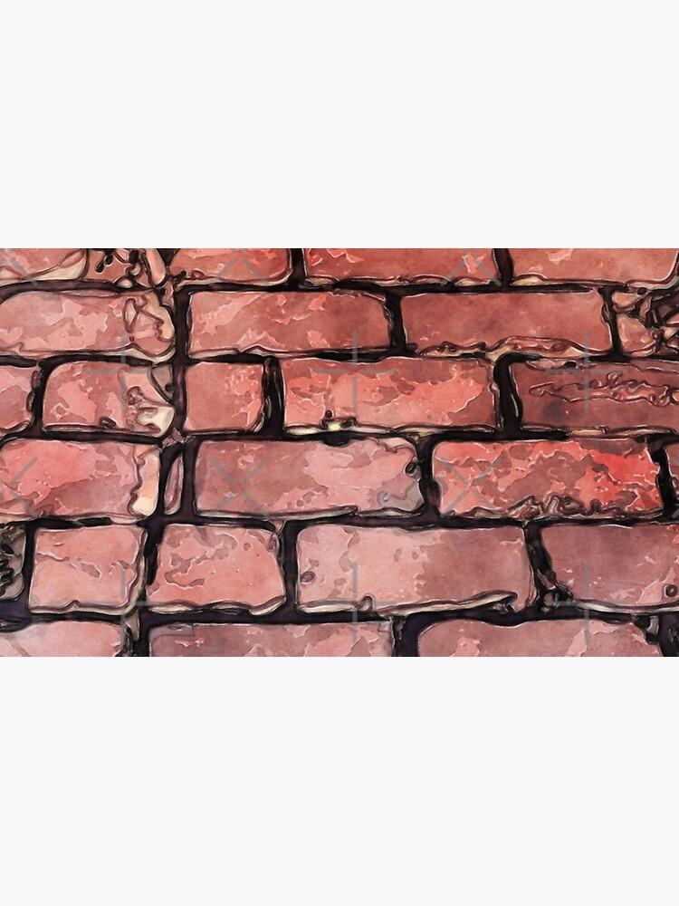 Vintage Brick Street by perkinsdesigns