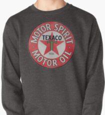 Vintage Texaco Motor Spirit Logo  Pullover