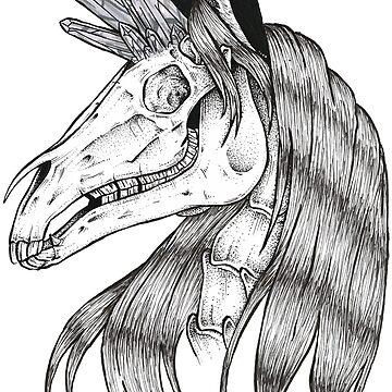 Crystal unicorn by i-vomited-dream