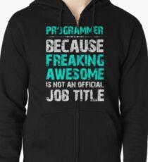 Programmer Zipped Hoodie